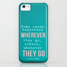 Quote By Oscar Wilde Slim Case iPhone 5c