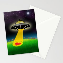Love Abduction Stationery Cards