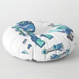 CheckiO robot Floor Pillow