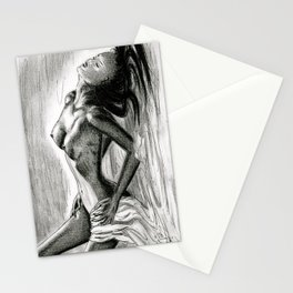 Passion in Black and White Stationery Cards