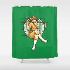 The 5th Turtle Shower Curtain