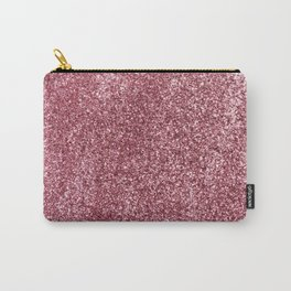 Pink Glitter Carry-All Pouch