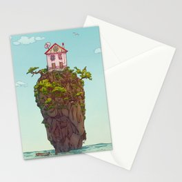 THE HOUSE ON THE CLIFF Stationery Cards