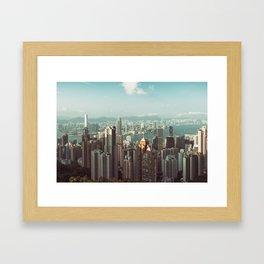 Hong Kong View II Framed Art Print
