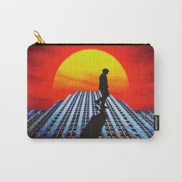 Take A Walk On The Tiled Side Carry-All Pouch