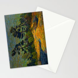 Tom Thomson Byng Inlet Georgian Bay winter 1914-1915 Canadian Landscape Artist Stationery Cards