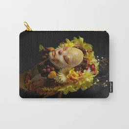 Golden Harvest Muertita Carry-All Pouch