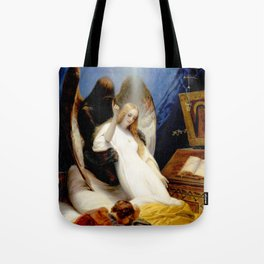 The Angel of Death Tote Bag