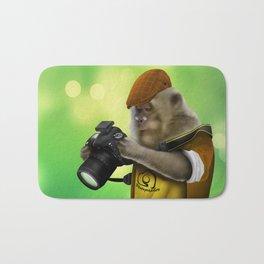 Photographer of the apes Bath Mat