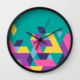 Geometric puzzle Wall Clock