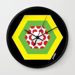 Tour de France Jerseys Wall Clock