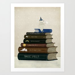 wizards field guide Art Print