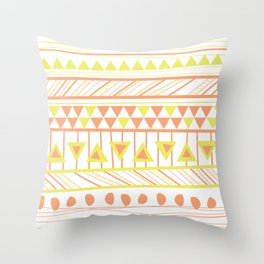 LIME AFRICA Throw Pillow