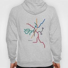Boston Subway - The T Hoody