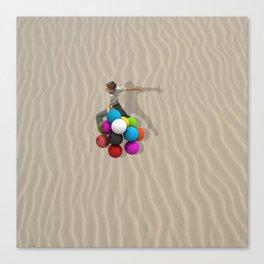 candy sand Canvas Print