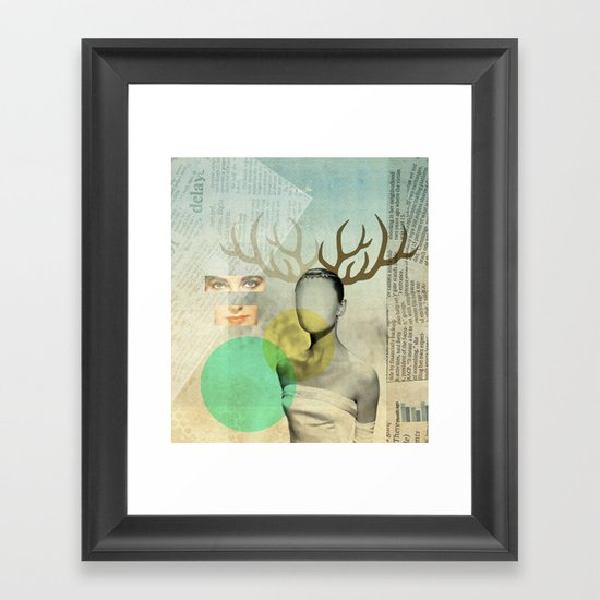 Audreys Virtue Framed Art Print