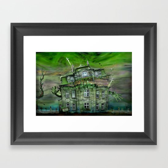 The Ghosthouse Framed Art Print