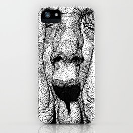point face iPhone Case