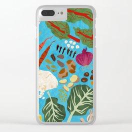 Ethiopian Food is Good Food Clear iPhone Case