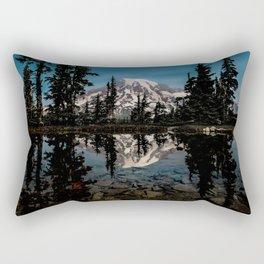 Rainier Reflection 2018 Rectangular Pillow