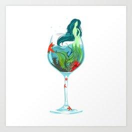 Drink It In Art Print