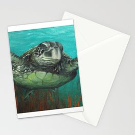 Sea Turtle 2 Stationery Cards