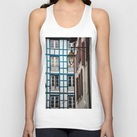 architecture Tank Tops featuring Basque architecture by MarioGuti