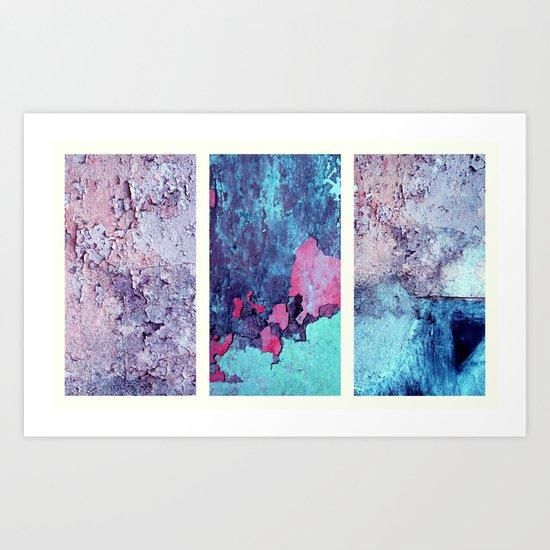 pink wallpaper  Art Print