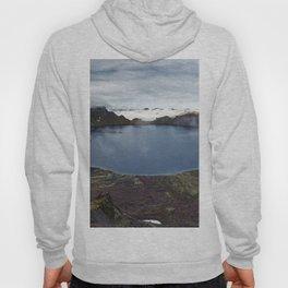 Crater lake of active volcano on Kamchatka Peninsula Hoody