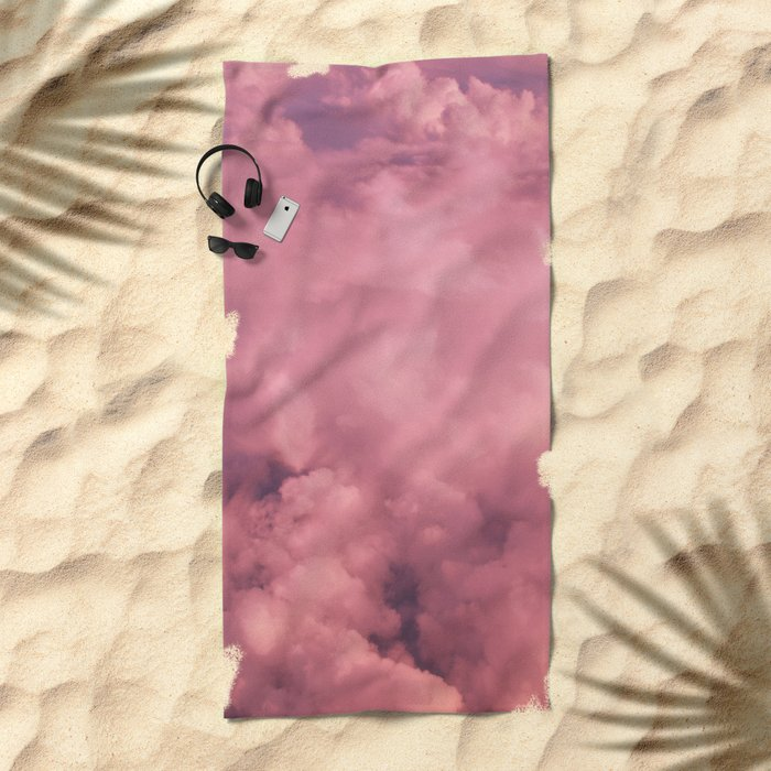 Cotton Candy II Beach Towel
