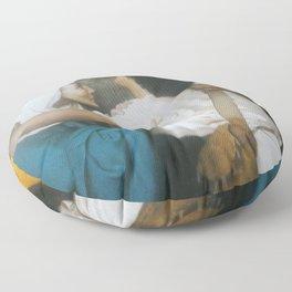 William-Adolphe Bouguereau - Le retour de Tobie Floor Pillow