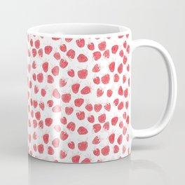 roses are red, strawerries too Coffee Mug