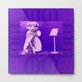 DogCurios 09 Metal Print