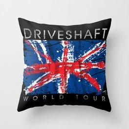 Driveshaft Throw Pillow