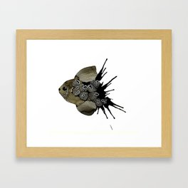 Coral Fish Framed Art Print