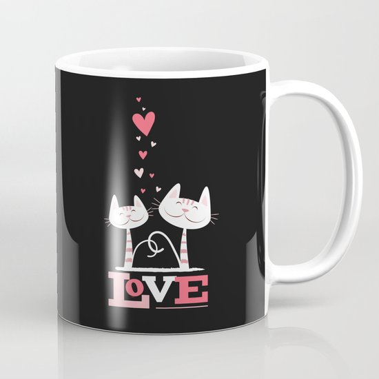 2 Cats in Love Mug