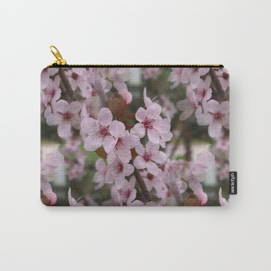 Cherry Plum Blossoms Carry-All Pouch