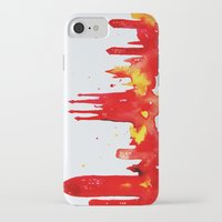 barcelona iPhone & iPod Cases featuring Barcelona by Talula Christian
