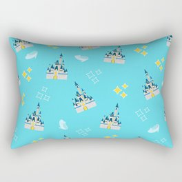 Royal Glass Slippers Rectangular Pillow