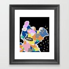 Geometric Fantasy 4 Framed Art Print