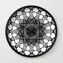 Art Nouveau Deco Mandala 2 Wall Clock