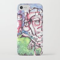 birdman iPhone & iPod Cases featuring Birdman by 5wingerone