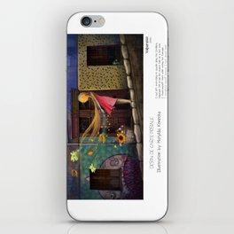 """Valparaiso"" in words & image (M.Konecka) iPhone Skin"