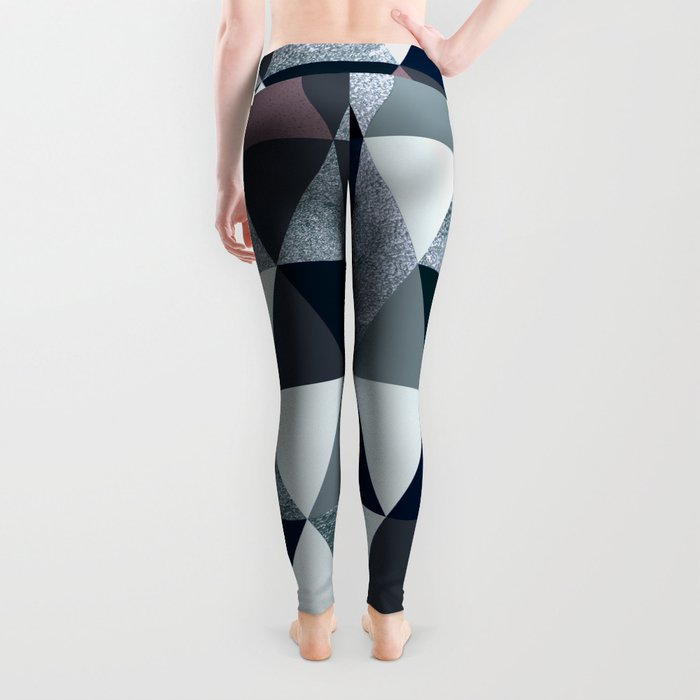 Abstract #386 Leggings