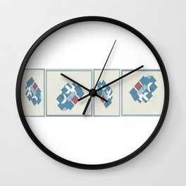 Odds For The Fire by Jonny Dubowsky Wall Clock