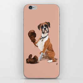 The Boxer (colour) iPhone Skin