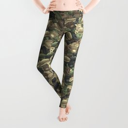 Fast food camouflage Leggings