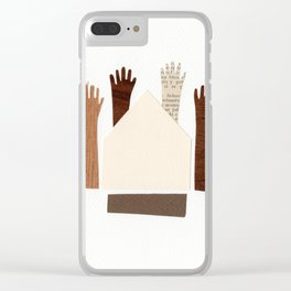 Randonnée Clear iPhone Case