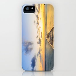 Golden Hour in Waikiki iPhone Case