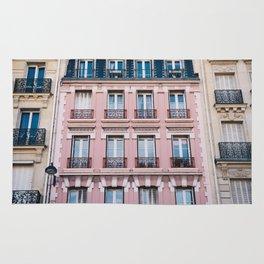 Parisian Buildings Rug
